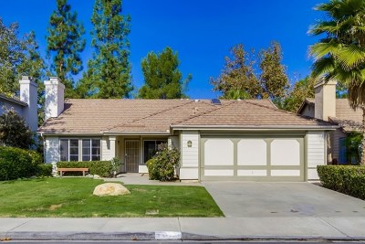 Escondido Single Family Home For Sale: 1164 Rocky Point