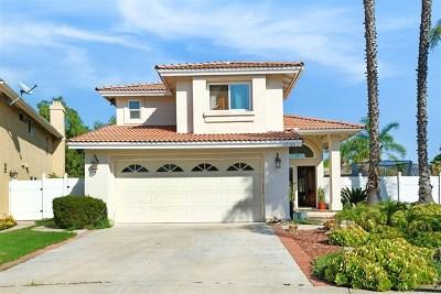 El Cajon Single Family Home For Sale: 12180 Via Antigua