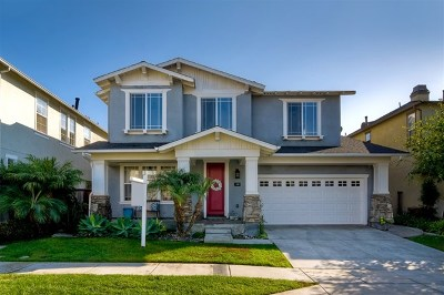Carlsbad Single Family Home For Sale: 611 Red Coral Ave