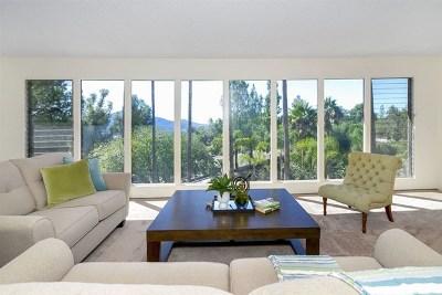 El Cajon Single Family Home For Sale: 1860 Hidden Mesa Rd