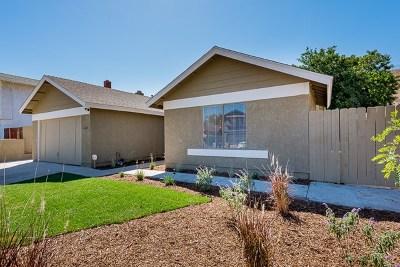 Lemon Grove Single Family Home For Sale: 2438 Camino De Las Palmas