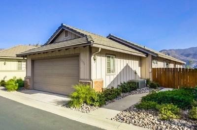 El Cajon Single Family Home For Sale: 1253 Bitterbush Lane