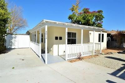 Lemon Grove Multi Family Home For Sale: 8012 Palm St