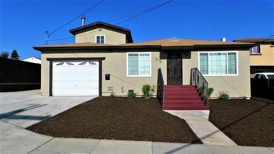 National City Single Family Home For Sale: 2415 E 20th St
