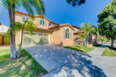 Chula Vista Single Family Home For Sale: 1139 Sparrow Lake Rd