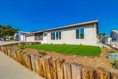 Spring Valley Single Family Home For Sale: 8330 Stansbury St