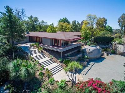 Escondido Single Family Home For Sale: 10283 Hidden Meadows Rd