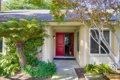 Encinitas Single Family Home For Sale: 818 Birchview Dr