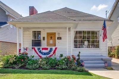 Coronado Single Family Home For Sale: 606 Margarita Ave