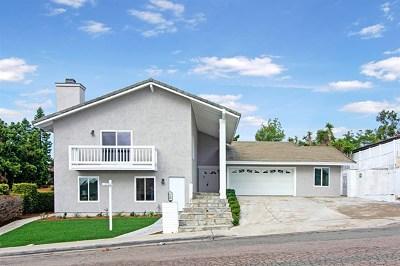 Bonita Single Family Home For Sale: 375 Camino Elevado