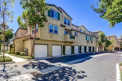 San Diego Condo/Townhouse For Sale: 1630 Paseo Aurora