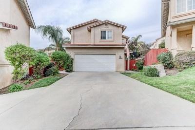 El Cajon Single Family Home For Sale: 1642 Wally Way
