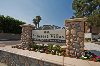 San Diego Condo/Townhouse For Sale: 3030 Suncrest Dr #205