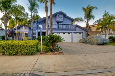 San Marcos Single Family Home For Sale: 894 Quail Dr