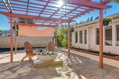 La Mesa Single Family Home For Sale: 7897 Normal Avenue