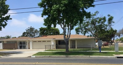 Chula Vista Single Family Home For Sale: 804 Fifth Ave