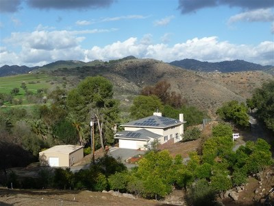 Escondido Single Family Home For Sale: 2690 Canyon Crest Dr