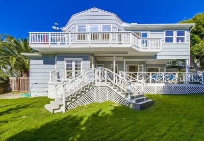 La Jolla Single Family Home For Sale: 5776 Waverly