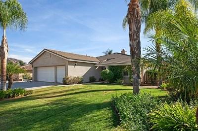 El Cajon Single Family Home For Sale: 13961 Cheryl Creek Drive