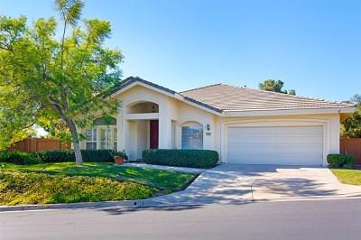 El Cajon Single Family Home For Sale: 1856 Monarch Ridge Circle