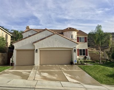 Murrieta Single Family Home For Sale: 35500 Sumac Ave
