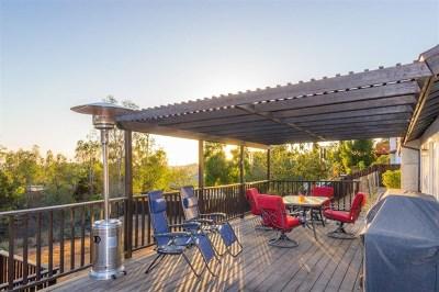 La Mesa Single Family Home For Sale: 9449 Showplace Dr