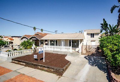 San Diego Multi Family Home For Sale: 3438 Monroe Ave