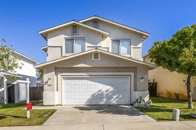 El Cajon Single Family Home For Sale: 767 Nicholas Ln