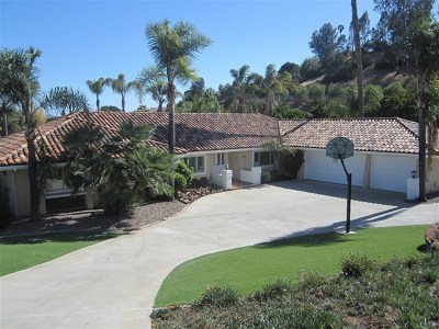 Fallbrook Single Family Home For Sale: 3309 Via Loma
