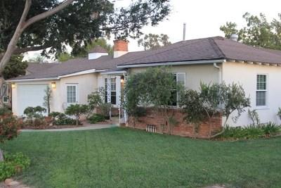 El Cajon Single Family Home For Sale: 1451 Murray Ave