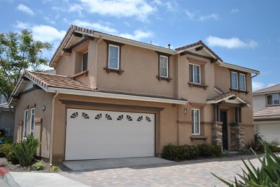 Chula Vista Single Family Home For Sale: 2823 Weeping Willow Rd