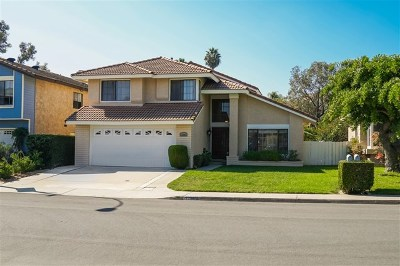 Rancho Penasquitos, Rancho Penesquitos Single Family Home For Sale: 12962 Orangeburg Ave