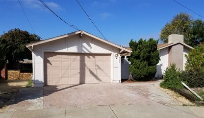 San Diego Single Family Home For Sale: 5702 Bakewell St