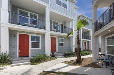 Imperial Beach Condo/Townhouse For Sale: 506 Hummingbird Lane