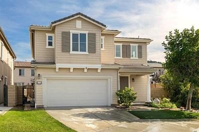 Fallbrook Single Family Home For Sale: 3750 Lake Park Road