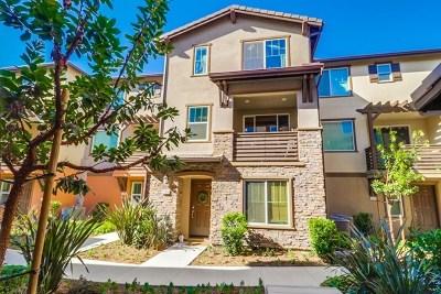 Chula Vista Condo/Townhouse For Sale: 2770 Sparta Road #4