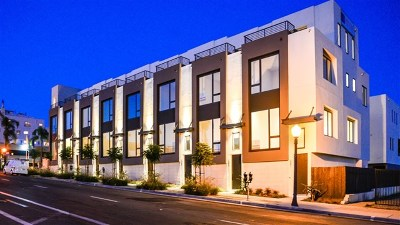 San Diego Condo/Townhouse For Sale: 2053 5th Ave