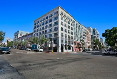 San Diego Condo/Townhouse For Sale: 450 J Street #4081