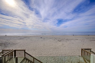 Del Mar Single Family Home For Sale: 2508 Ocean Front