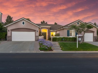 Fallbrook Single Family Home For Sale: 654 Braemar Terrace