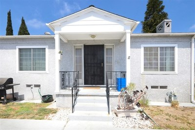 National City Single Family Home For Sale: 931 E 16th Street