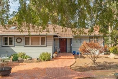 Bonita Single Family Home For Sale: 3880 The Hill Road