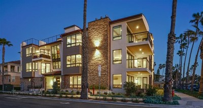 Oceanside Condo/Townhouse For Sale: 724 North Pacific Street #4