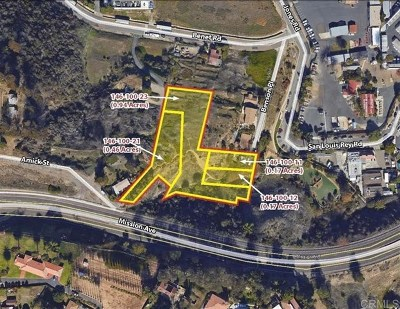 Oceanside Residential Lots & Land For Sale: Amick St.