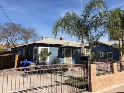 Lemon Grove Multi Family Home For Sale: 7524 Pacific Ave