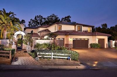 Encinitas Single Family Home For Sale: 940 Via Di Felicita