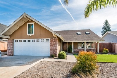 Carlsbad Single Family Home For Sale: 7108 Mimosa Drive