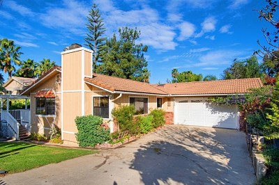 Fallbrook Single Family Home For Sale: 1026 Gearald Way