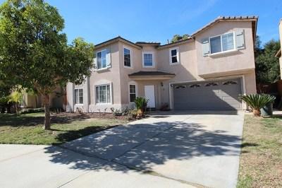 Escondido Single Family Home For Sale: 621 Jacks Creek Rd