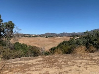 Temecula Residential Lots & Land For Sale: 47484 Rainbow Oaks Dr